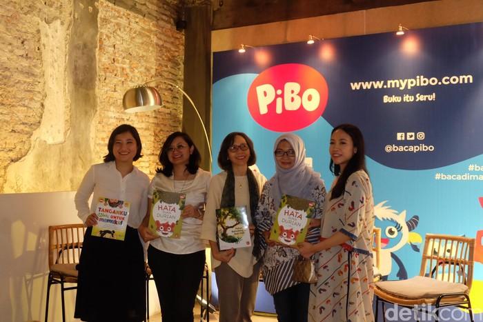 Foto: Launching aplikasi PiBo (Agnes/detikHOT)