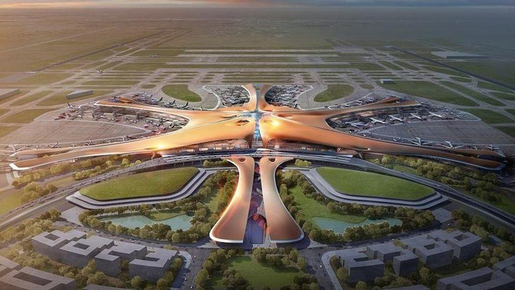Mengintip Calon Bandara Terbesar Dunia