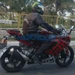 Motor Perkawinan BMW-TVS Versi TVS Masih Dites di Jalanan