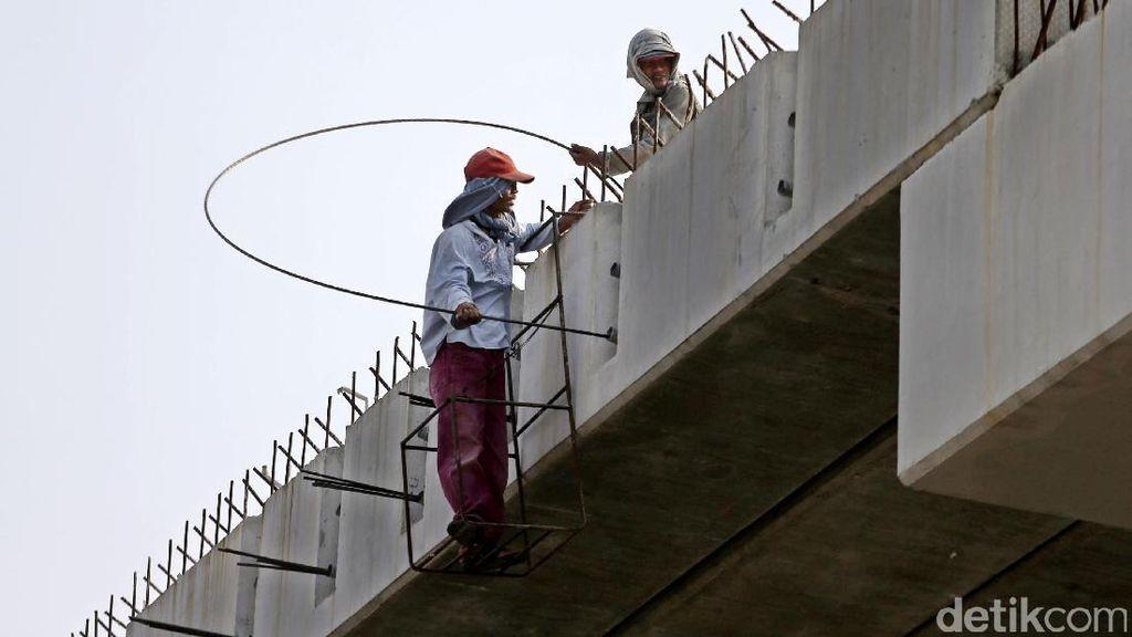 Foto: Pembangunan JLNT Pluit Digeber