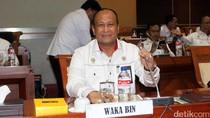 Wakil Kepala BIN Raker dengan Komisi I DPR