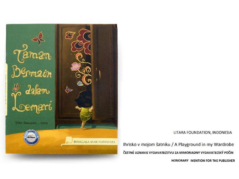 Buku Anak Taman Bermain Dalam Lemari akan Rilis dalam Bahasa Turki