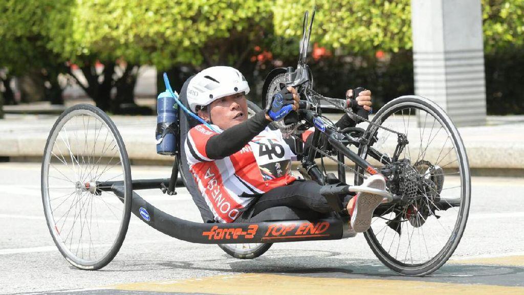 Atlet Paracycling Sumbang Medali, RI Kokoh di Puncak Klasemen