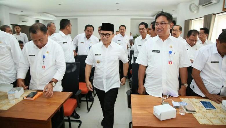 Tindaklanjuti Arahan Presiden Jokowi, Bupati Anas Kumpulkan Jajaran