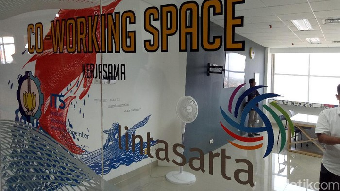 ITS Co-Working Space. Foto: Michelle Alda Gunawan
