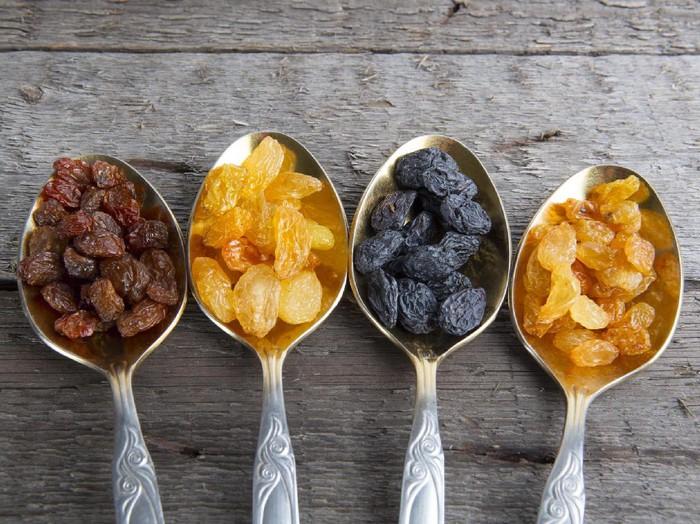 Langsing dengan makan kismis bisa lho. Foto: ilustrasi/thinkstock
