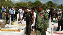 Panglima TNI Ziarah ke TMP di Timor Leste