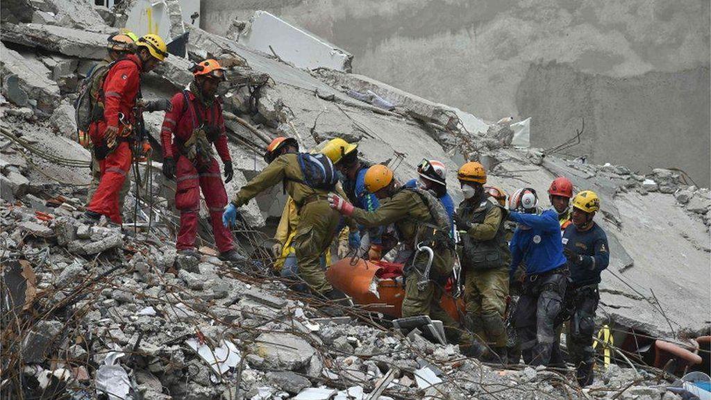 Korban Tewas Akibat Gempa di Meksiko Bertambah Jadi 273 Orang