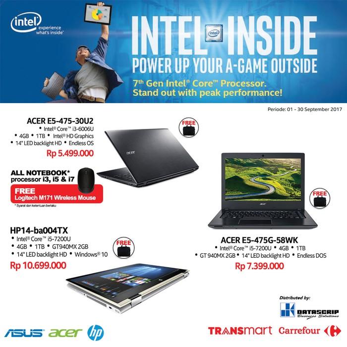 Foto: Beli Brand Laptop Ini Gratis Mouse di Transmart Carrefour (Dok. Transmart Carrefour)