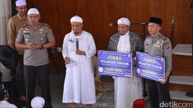 2 polantas di Bogor dapat hadiah umrah gratis.