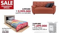 Diskon Mulai dari Sofa Hingga Matras di Index Living Mall