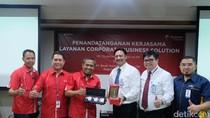 4.100 Karyawan Bank Mandiri Pakai Telkomsel