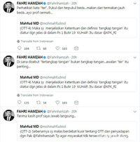 Fahri Hamzah ke Mahfud MD: Mari Sehatkan Logika Publik