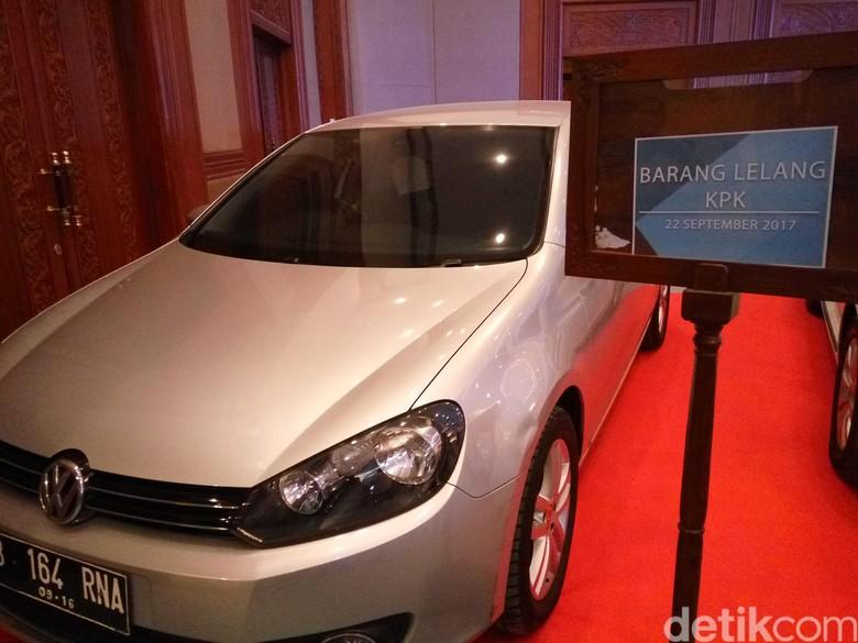 VW Golf Hasil Lelang Mobil KPK Siap Dibawa ke Yogyakarta