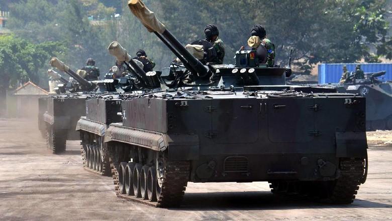 Intip Persiapan Korps Marinir Jelang Peringatan HUT ke-72 TNI