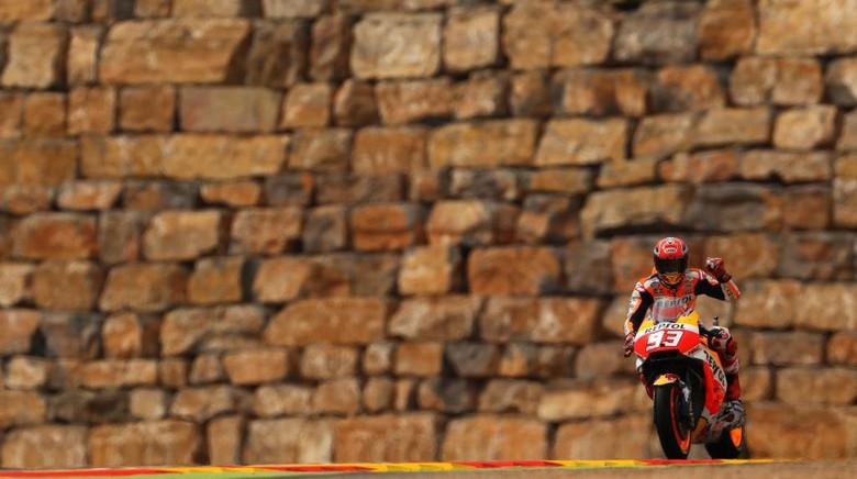 Marquez Ungguli Vinales dan Pedrosa di Latihan Ketiga
