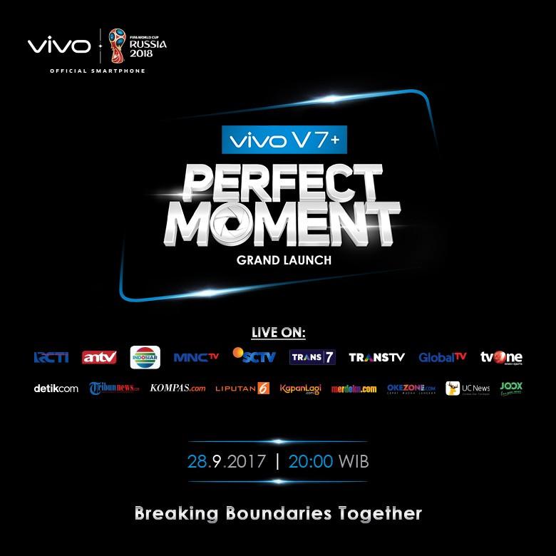 Peluncuran Vivo V7+ Disiarkan Langsung di 9 Stasiun TV Nasional