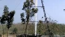 Sumur Bekas Tambang di Blora Semburkan Air Setinggi Puluhan Meter