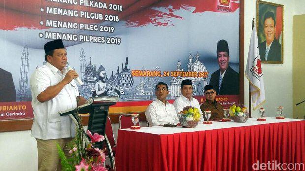 Ketua DPD Garindra Jawa Tengah, Abdul Wahid