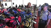 151 Motor Custom Dipamer di Suryanation Motorland 2017