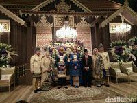 Perjumpaan Semua Tokoh Tanpa Sekat Politik di Hajatan Ketua MPR