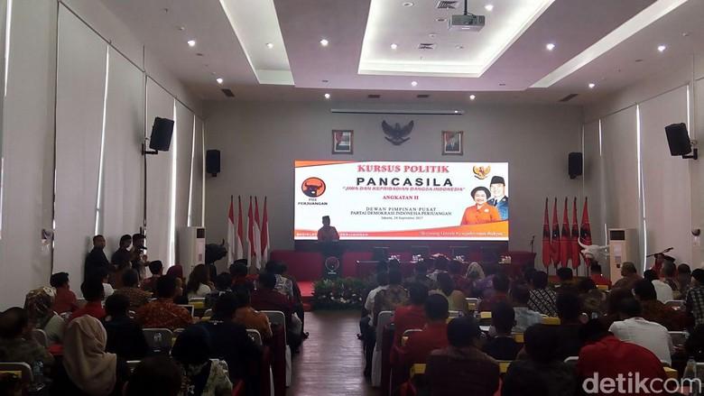 PDIP Gelar Kursus Politik untuk Membumikan Pancasila