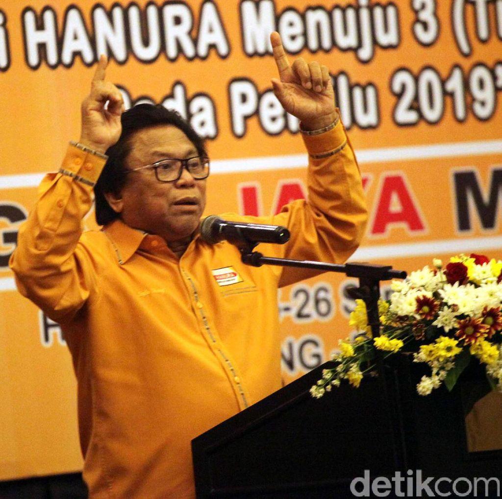 Kelakar dan Harapan Ketum Hanura Bila Ada Pergantian Ketua DPR