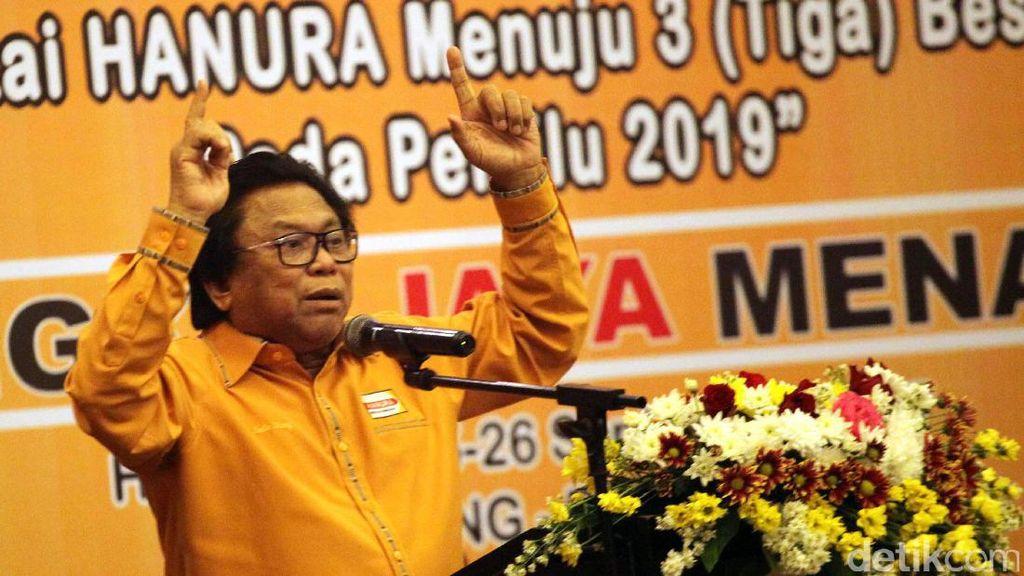 Hanura Pecah, OSO: Kalau Wiranto Mau Jadi Ketum Saya Kasih!