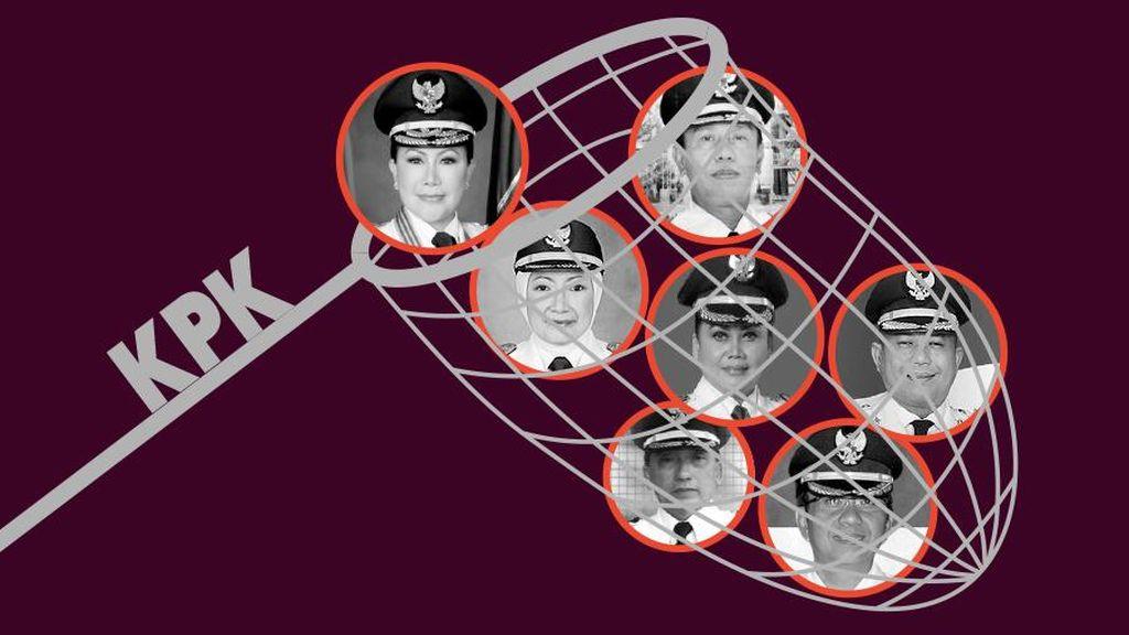 Tujuh Dinasti Politik Terlibat Korupsi