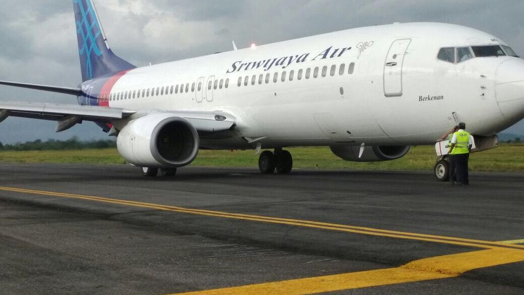 Aspal Taxiway Bandara Makassar Amblas, Sempat Sebabkan Delay