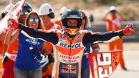 Karena Marquez Tak Ingin Sekadar Naik Podium di Aragon