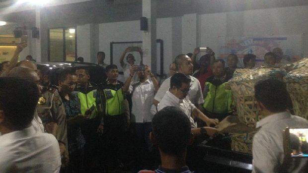 Ganja diamankan dari Pikap di Jl Gatot Subroto