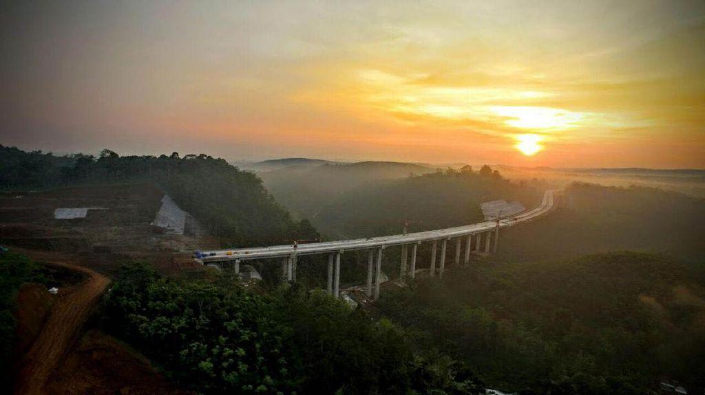 Indahnya Jembatan di Tol Bawen-Salatiga yang Diresmikan Jokowi