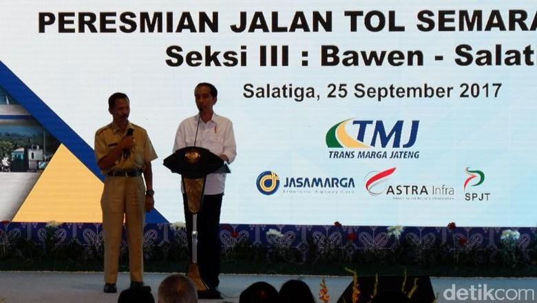Jokowi: Tahun 2019, Tol di RI Bertambah 1.800 Km