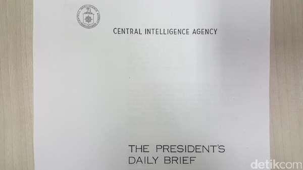 Ini Bukti CIA Pantau Peristiwa G30S/PKI 1965