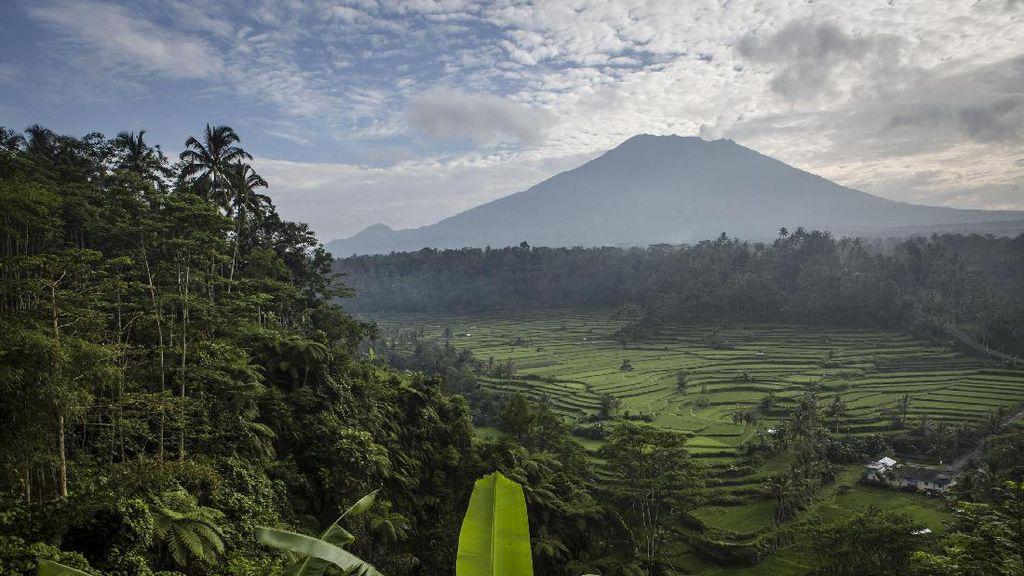 Gubernur Bali Ingatkan Wisatawan Petualang Tak Dekati Gunung Agung