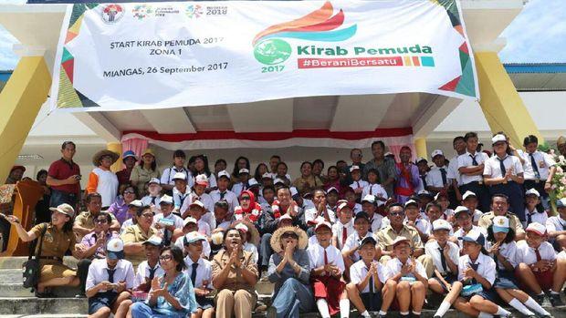 Dari Pulau Terluar di Ujung Suwesi, Kirab Pemuda Nusantara 2017 Dimulai