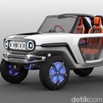 Mobil Listrik Hasil Perkawinan Suzuki Jimny dan Vitara