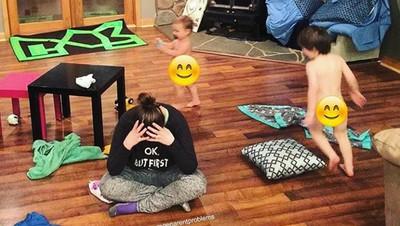 Foto: Real Mom Struggle! Mana yang Pernah Bunda Alami?