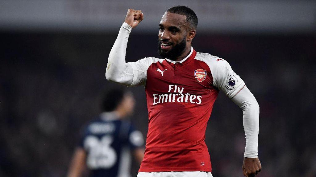 Guyonan Lacazette soal Tes Doping Usai Bikin Dua Gol untuk Arsenal