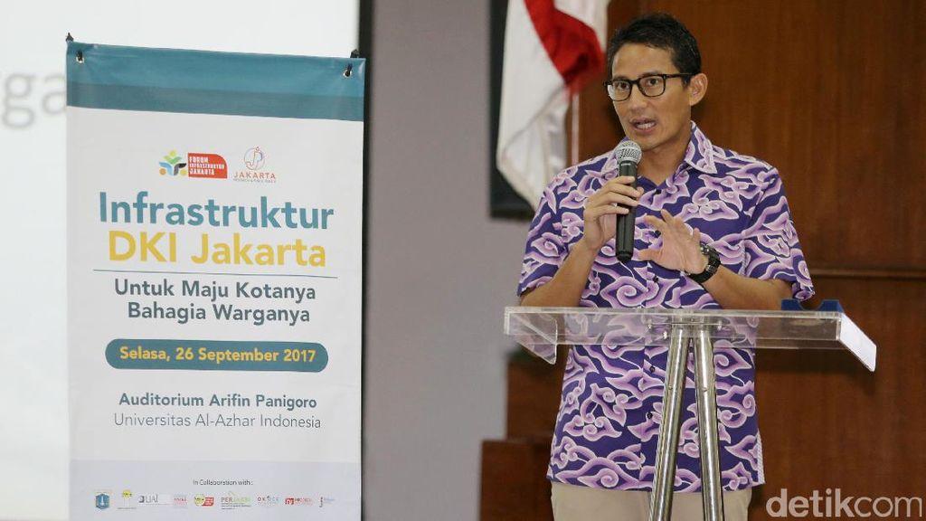 Jelang Para Asian Games 2018, Sandiaga Sebut DKI Punya Banyak PR