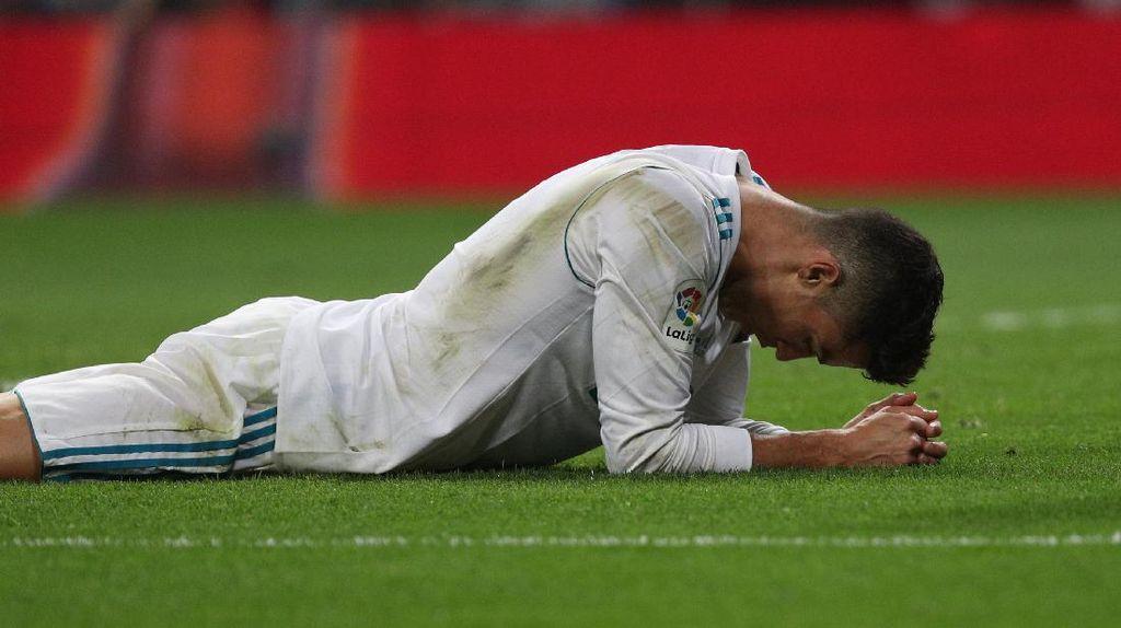 Ucapan Duka Ronaldo untuk Penggemar Cilik Korban Gempa Meksiko