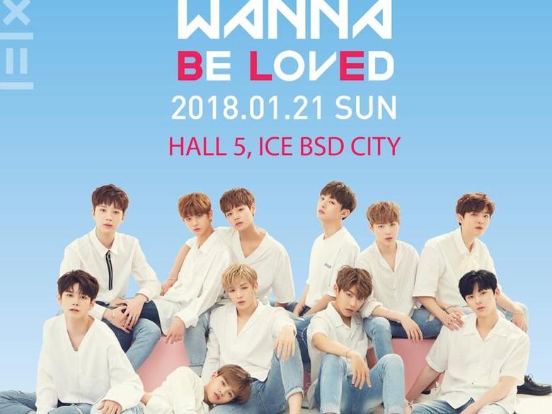 Hore! Wanna One Gelar Fanmeeting di Jakarta 21 Januari