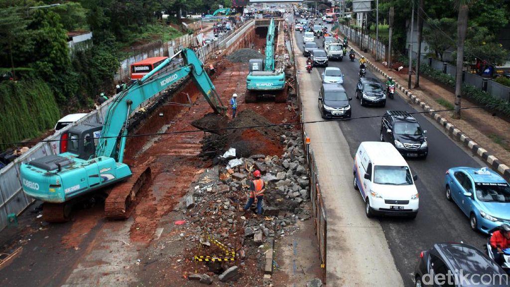 Foto: Penampakan Terkini Proyek Underpass Kartini