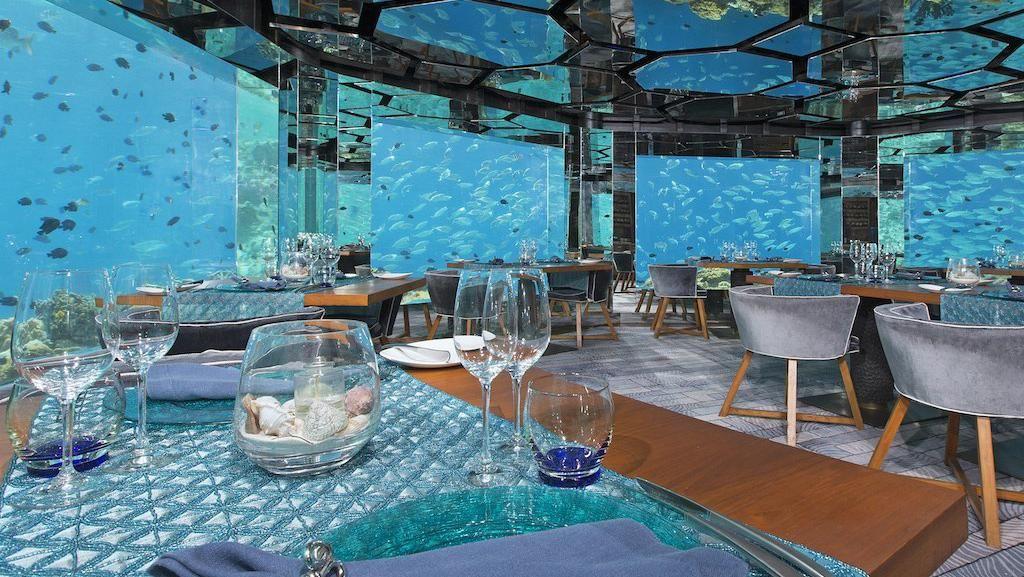 7 Restoran Bertema Bawah Laut di Dunia Ini Bikin Anda Takjub