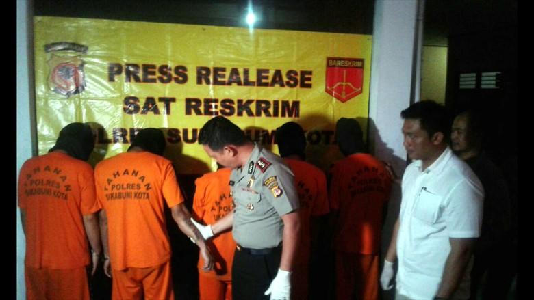 Kawanan Maling Rumah Kosong Jawa Barat Dibekuk Polisi di Sukabumi