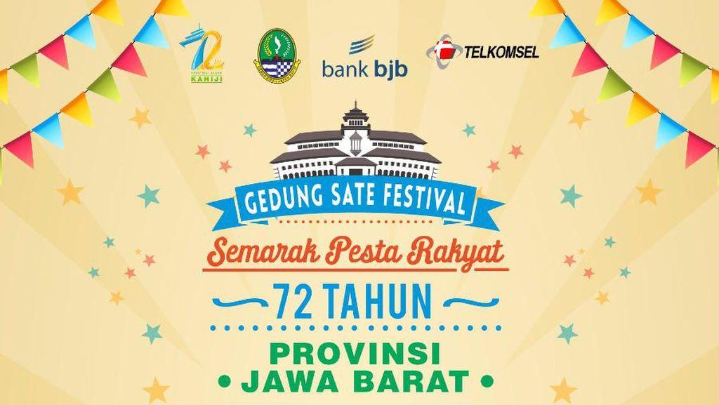 Gedung Sate Festival akan Digelar, Jalan Diponegoro Ditutup
