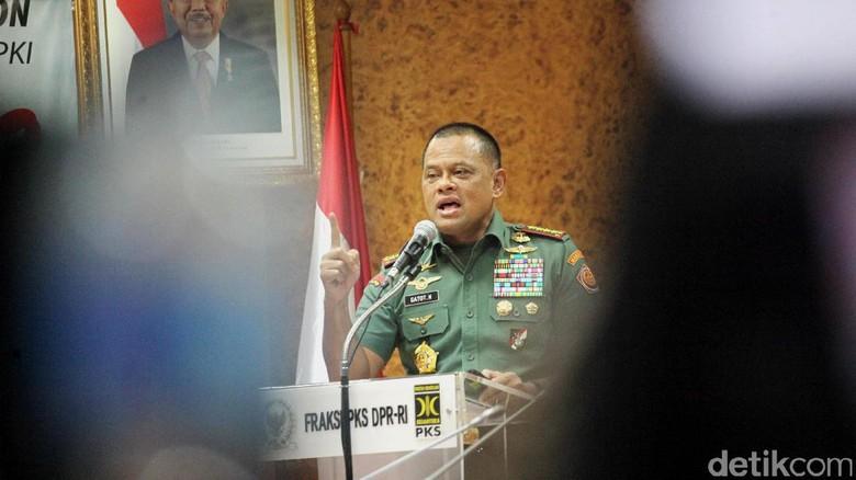 Panglima TNI Diberi Tahu Ditolak Masuk AS Saat Berada di Cengkareng