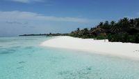 Salah satu pantai di Maldives (Afif Farhan/detikTravel)