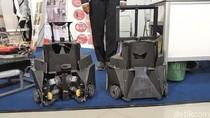 Ini Robot Sepak Bola Buatan Mahasiswa di Bandung
